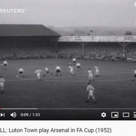 Luton Arsenal 1952