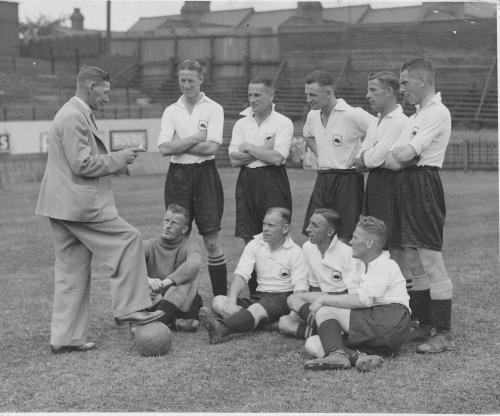 Luton Town Players 1935
